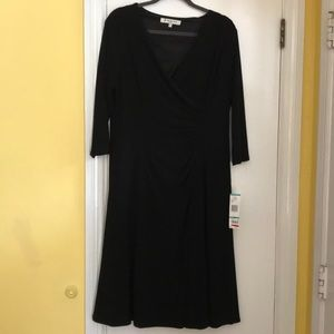Evan Picone black dress